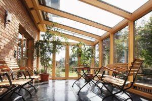 Prijs houten veranda