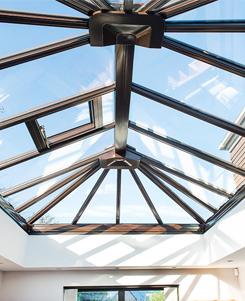 Veranda in de winter: welke soort dakbedekking