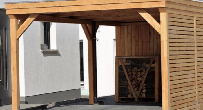 Carport hout: houtsoorten, model en prijzen