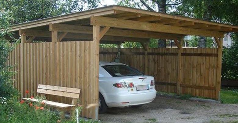 Welk hout voor carport kiezen
