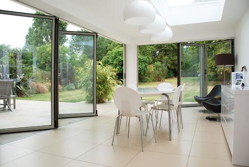 moderne veranda aluminium